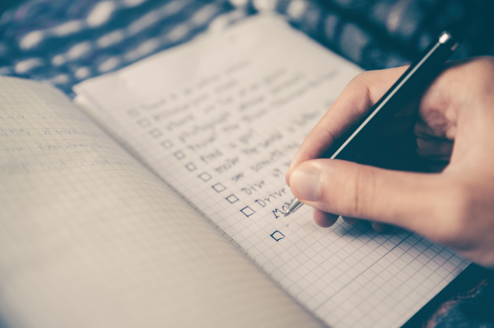 plan your day and do a to-do list