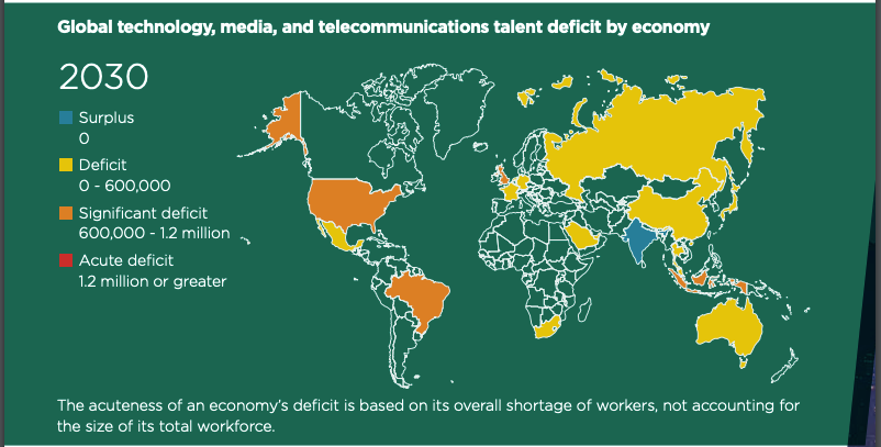 Future of work: The global talent crunch by Korn Ferry