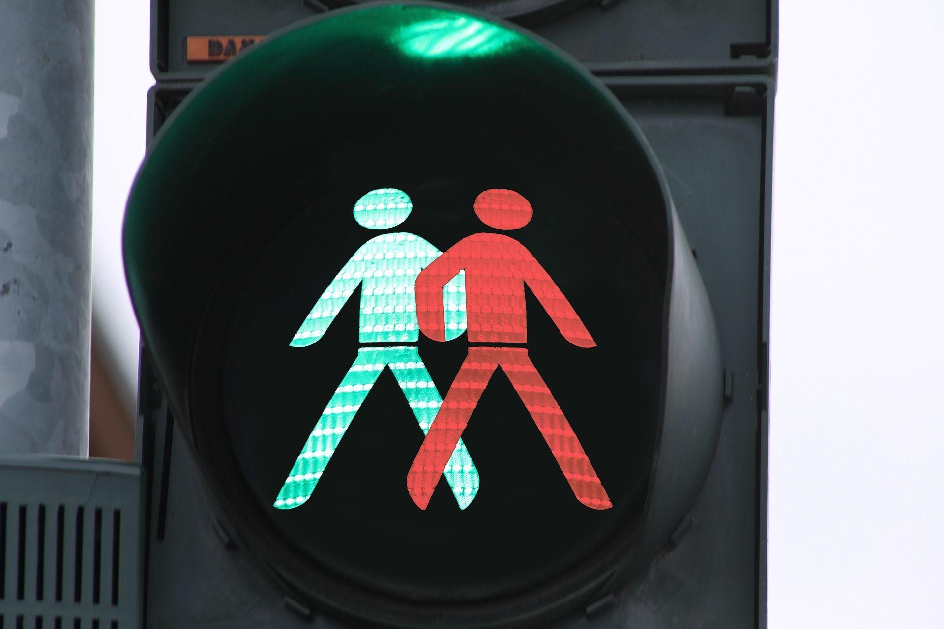 traffic lights pedestrian